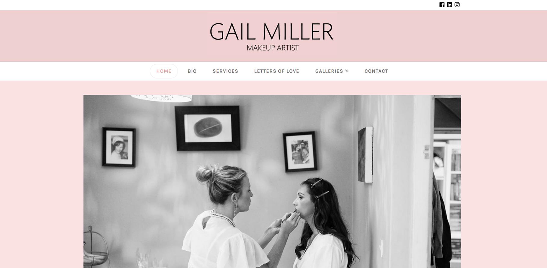 Gail Miller Makeup Artist